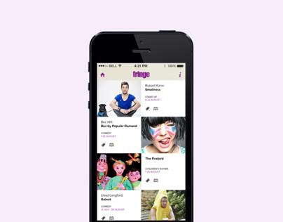 Fringe Mobile App