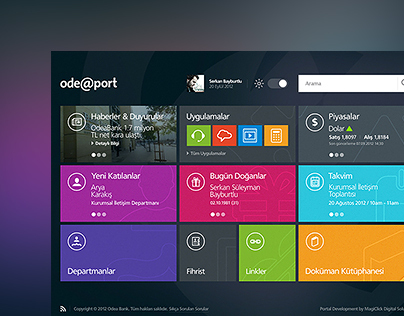 Odeabank Intranet