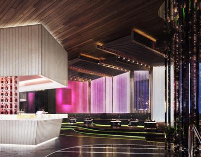 New York City Night Club • Interior