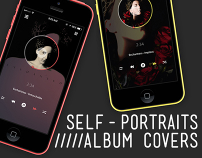 Self-portraits (Album Covers)