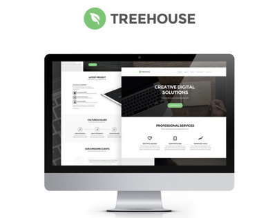 Treehouse – Free PSD Web Template