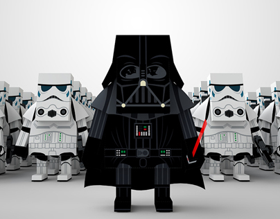 MOMOT STAR WARS PAPER TOY