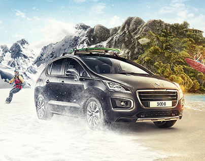 Peugeot - New Crossover 3008