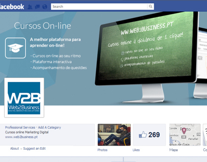 Facebook Cover - Web 2 Business