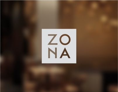 Zona  Food Wine Bar Identity & Interior by Pos1t1on