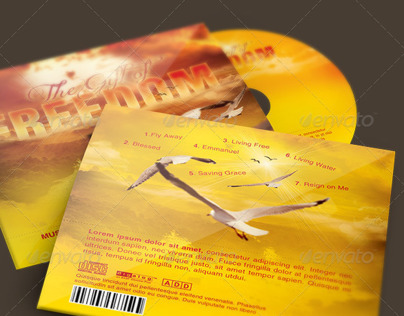 The Gift of Freedom CD Artwork Template