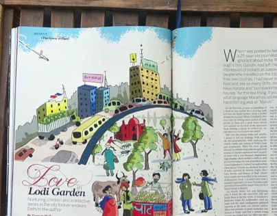 Editorial Illustrations: Nat Geo Traveller