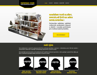 Prime redesign layout for company website
