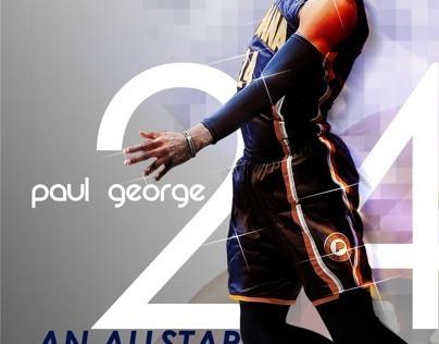 Paul George Fan Art
