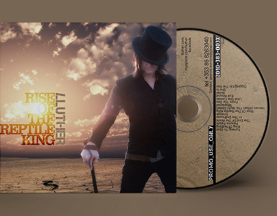 CD Sleeve & Disc for Irish band Lluther