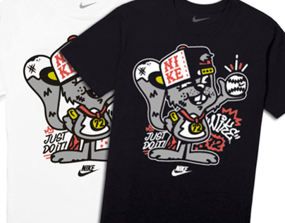 Nike kids squirrel tee