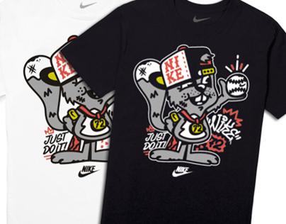 Nike kids squirrel tee
