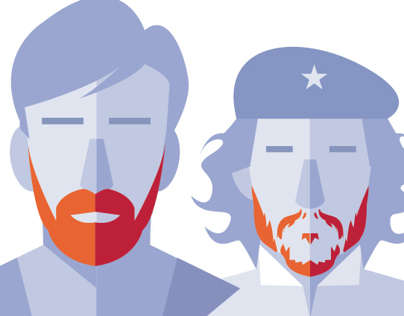 Famous Beards and Mustaches