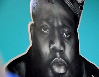 Notorious B.I.G. for So Hood Store