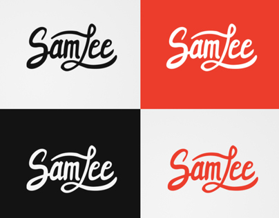Hand-lettered logotypes