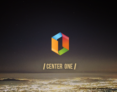 Center One Logo Concept Design