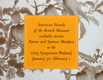 American Friends of the British Museum: Invitation