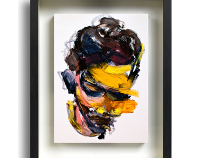 23 Paintings with the frames of Jaeyeol Han