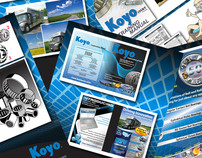 Koyo Corporation of USA:  Print Design