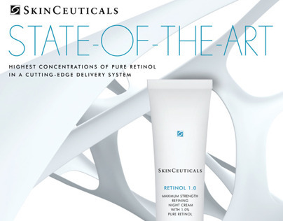 Advertising campaign for SkinCeuticals Retinol