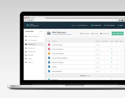 Kudos File Manager Web App