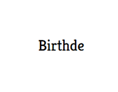 Birthde