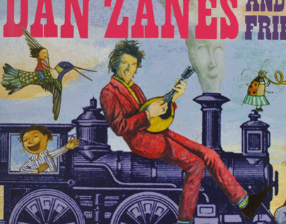 Dan Zanes: Catch That Train! CD package
