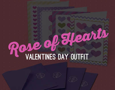 Rose of Hearts: Pattern & Cards