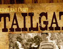 Event Artwork: Fall Tailgate Poster