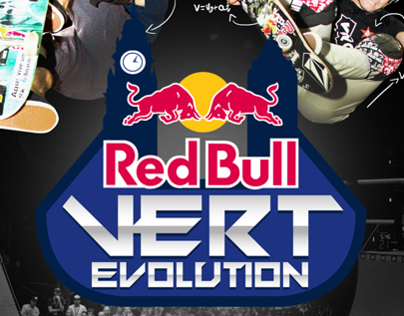 Red Bull Vert Evolution - Logo and KV