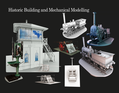 -Historic Building & Mechanical Modelling-