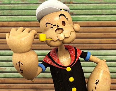 SkullToons - Popeye the Skullman