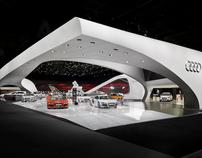 Audi Paris Motorshow Stand 2010