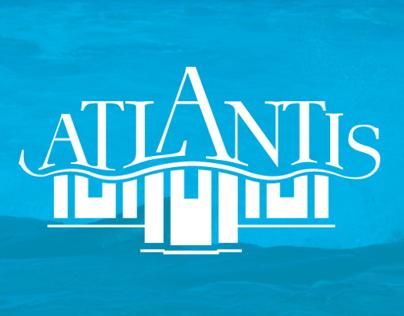Atlantis Inn-Logo Design