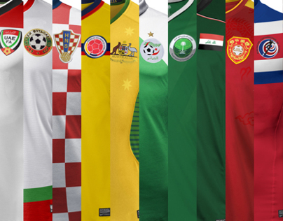 Nike concepts. National Kits II