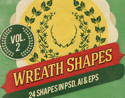 Wreath Shapes Vol.2