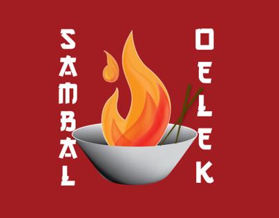 Sambal Chili Paste-Logo Design