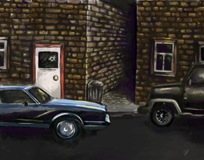 Animation Background Painting