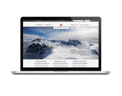Andorra Private Bankers Website