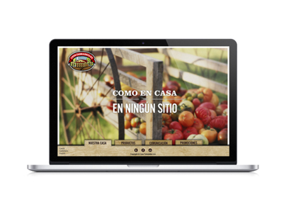 Casa Tarradellas Website Proposal