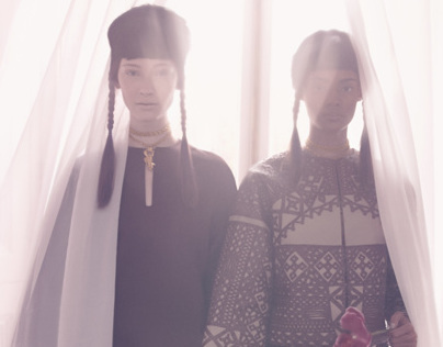 An Up-To-Date Elegance  Vogue Italia - Sølve Sundsbø