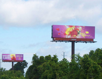 McDonald's Frozen Strawberry Lemonade Outdoor Ads