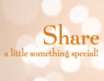 Share a little something special!