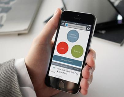 Worldcue Traveler App Redesign