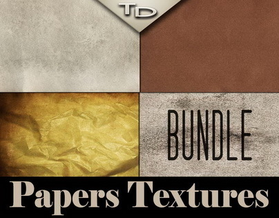 Various Paper Textures | Bundle