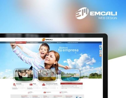 Emcali / Web Design