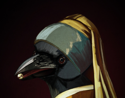 The magpie with the pearl earring