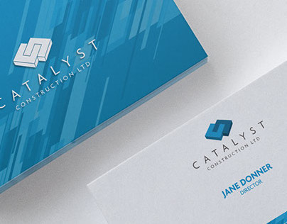 Catalyst Construction - Logo Design