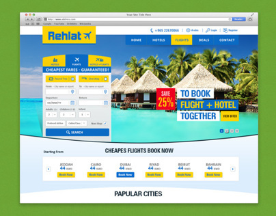 Rehlat - Online Travel Deals Search Engine