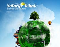 Solarge Tehnic Website Design